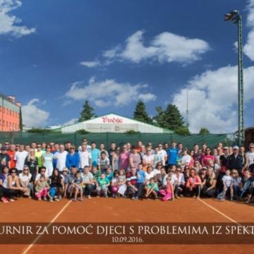 Humanitarni teniski turnir skupio 24.300 kuna za djecu s poteškoćama