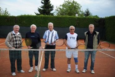 Mušketiri varaždinskog tenisa: Nisu dozvolili da ih dob zaustavi u igri