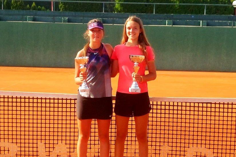 Lara Hraščanec i Ana Mukić odigrali varaždinsko finale na Šalati Openu u Zagrebu