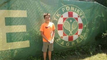Karlo Cindrić uvjerljivo stigao do dva naslova na Otvorenom prvenstvu Ponikva
