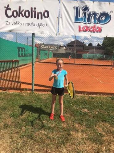 Ema Štajcar osvaja 1.mjesto na sportskim igrama mladih u Koprivnici