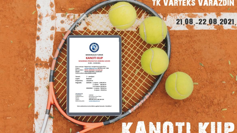 NAJAVA! Memorijalni turnir KANOTI KUP